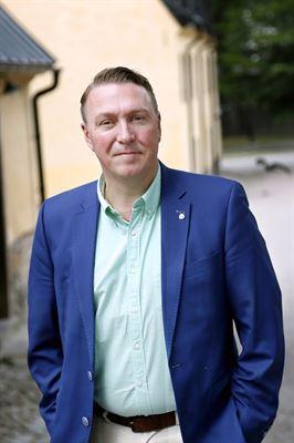 Jens Sjöström (S), oppositionsregionråd med ansvar för trafikfrågor.
