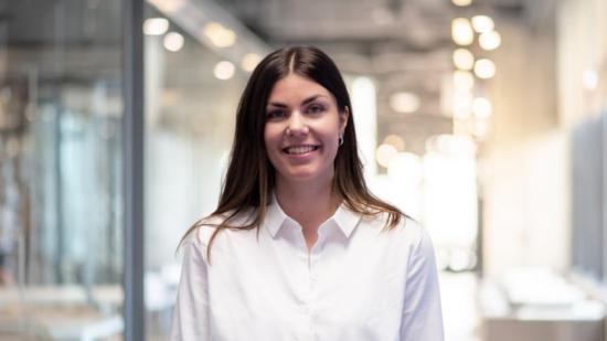 Amanda Dalstam, som driver flera av digitaliseringsprojekten på GKN.