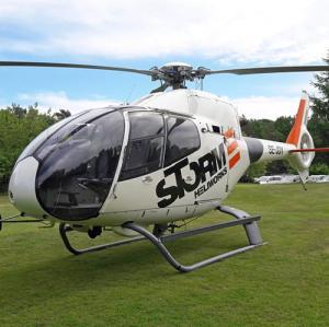 En Airbus H120 hos Storm Heliworks.