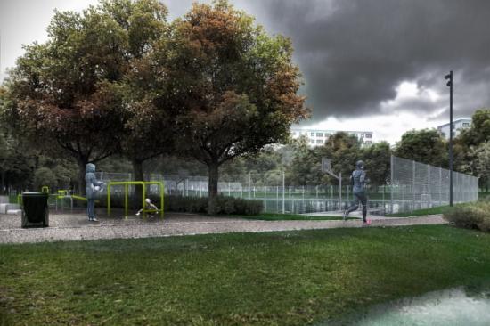 Malmö stad och VA SYD har arbetat med att skyfallsanpassa och rusta upp Söderkulla- och Fosietorpsparken, eftersom det ett av de områden i Malmö som drabbats hårt av översvämningar vid extremregn.