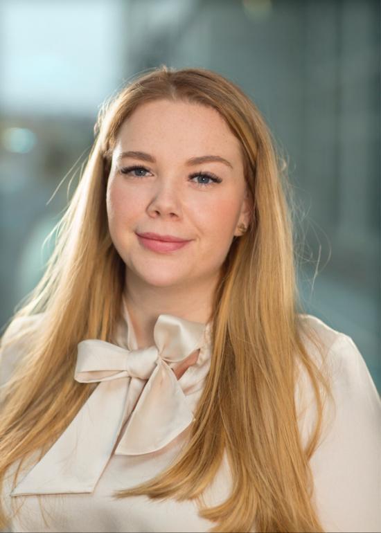 Jonna Nilsson, projektledare på Green Cargo.