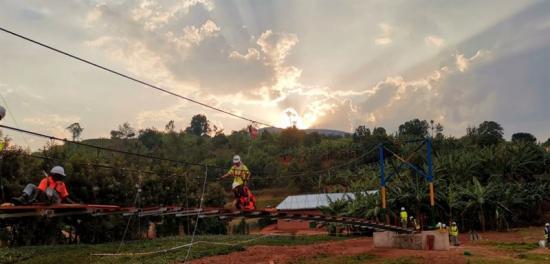 Broprojekt i Rwanda.