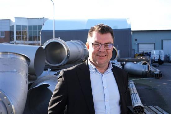 Fredrik Jonsson koncern-vd på Uniwater AB.