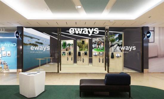Snart slår världens första butik för laddstationer upp sina dörrar (bilden är en illustration).