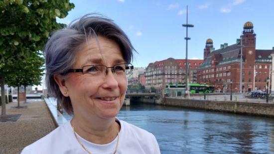Lena Hellberg, ansvarig för den aktuella samrådsprocessen på VA SYD.