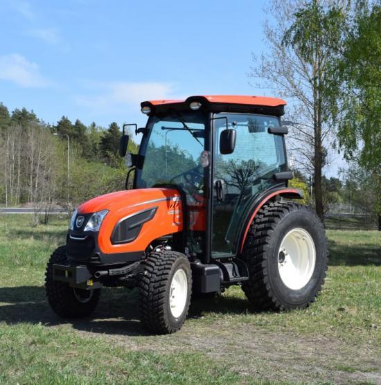 Nya Kioti DK6010-serien presenteras på MaskinExpo.