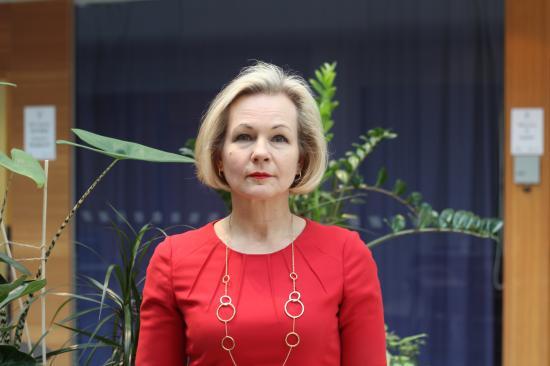 Anna Grönlund, branschchef Sveriges Bussföretag.