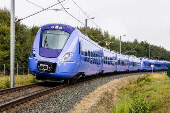 Skånetrafiken X61 Alstom.