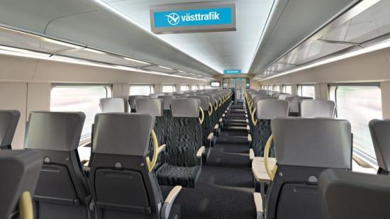 Tågen byggs och designas med både resenärers och personals önskemål i åtanke.