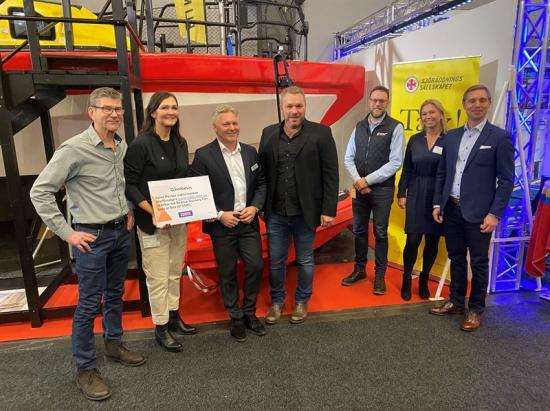 Tack vare donationen från Båtkusten, Imatech Marin & Industri ABs återförsäljarnätverk kan Svenska Sjöräddningssällskapet utöka sin flotta med ytterligare två stycken RescueRunner-system.
