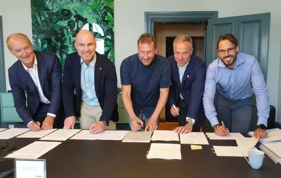 Per Sjöstrand, Joakim Lundberg, Tobias Norén, Klas Larsson och Robin Boheman.