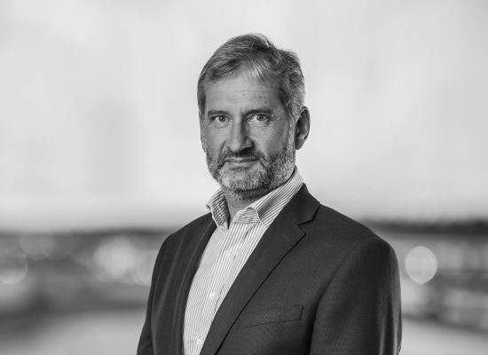 Geir Stormorken som är flygbolaget BRAs VD.