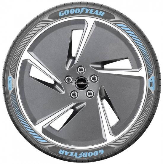 Prototypen Goodyears senaste steg i utvecklingen: EfficientGrip Performance med Electric Drive-teknologi.