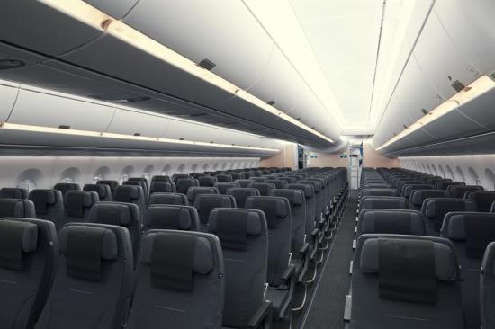 """<span><span>SAS Go är 228 stolar med bland annat 11,6"""" IFE-skärmar med hög upplösning.</span></span>"""