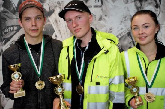 Pristagarna från Kvaltävling till Yrkes-SM i Skellefteå var Robert Järpeland från Liljaskolan i Vännäs, Felix Lindström, frånBjörknäsgymnasiet i Boden och Wilma Jonsson från Malgomajskolan i Vilhelmina.