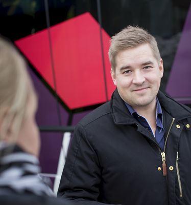 Andreas Olofsson, vd Skellefteå buss.