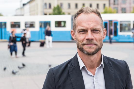 Lars Backström, VD på Västtrafik.