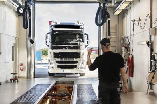 Besikta Bilprovning öppnar ny station för tungtrafik i Norrköping.