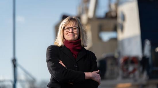 Sjöfartsverkets generaldirektör Katarina Norén.