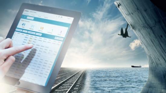 I Port Optimizer Track & Trace går det enkelt att filtrera fram information för sitt gods och sedan följa det i realtid från kajkant till inlandsdestination.