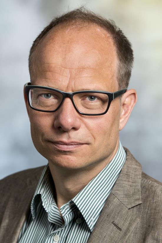 Projektchef Johan Brantmark.