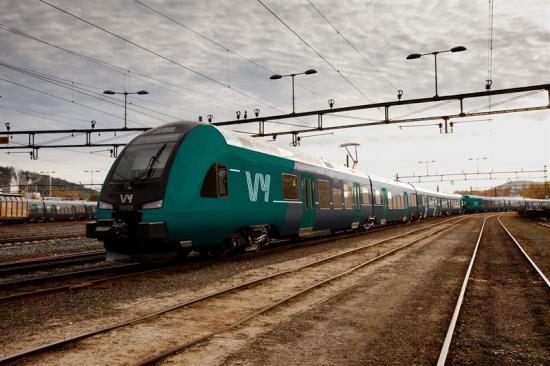 NSB, den norska ägaren till Tågkompaniet samlar tåg- och bussverksamheten under ett nytt gemensamt varumärke: Vy.