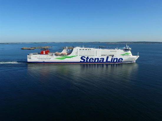 Stena Germanica, världens första metanoldrivna färja.