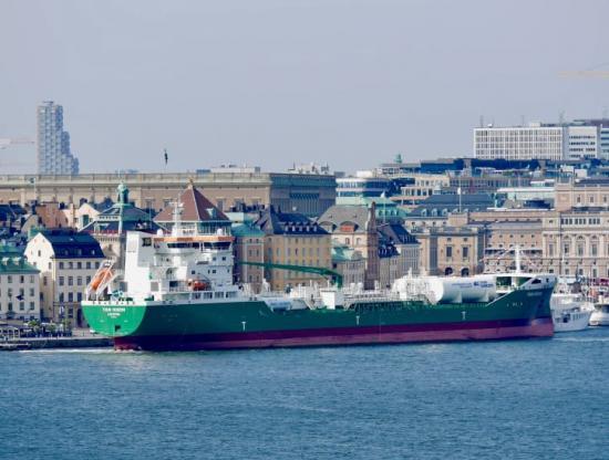 Thun Venern, världens mest miljövänliga produkttanker.