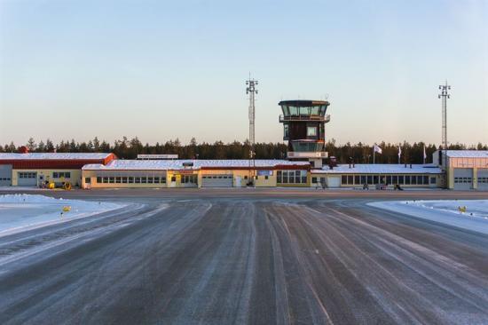 Örnsköldsviks flygplats.