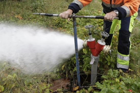 Nu är det dags för spolning av vattenledningar i Hemmeslöv. På måndag den 8 januari startar spolningen i Eskilstorp.