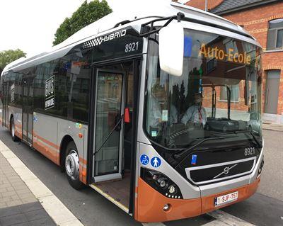 <span>90 bussar av modellen Volvo 7900 Hybrid har beställts till Bryssel.</span>