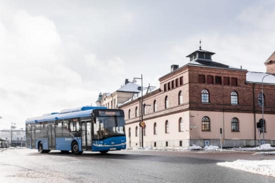 Linje 10 ersätts av linje 1 och 7. Resenärer får fortsatt snabba förbindelser till Skövde Centrum.
