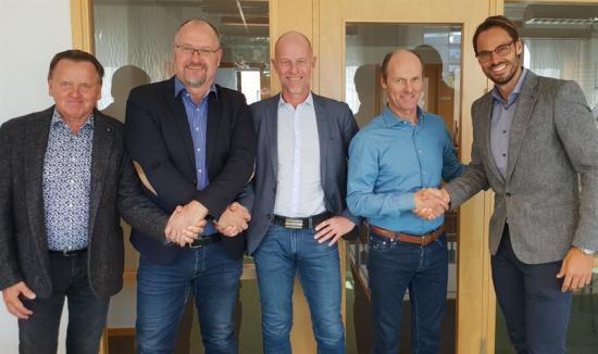 Tommy Larsson, Thore Gustafsson, Patrik Persson, Johan Karlsson och Robin Boheman.