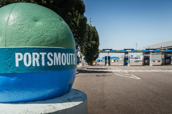 Digitalisering ökar transportflödet i Portsmouth International Port.