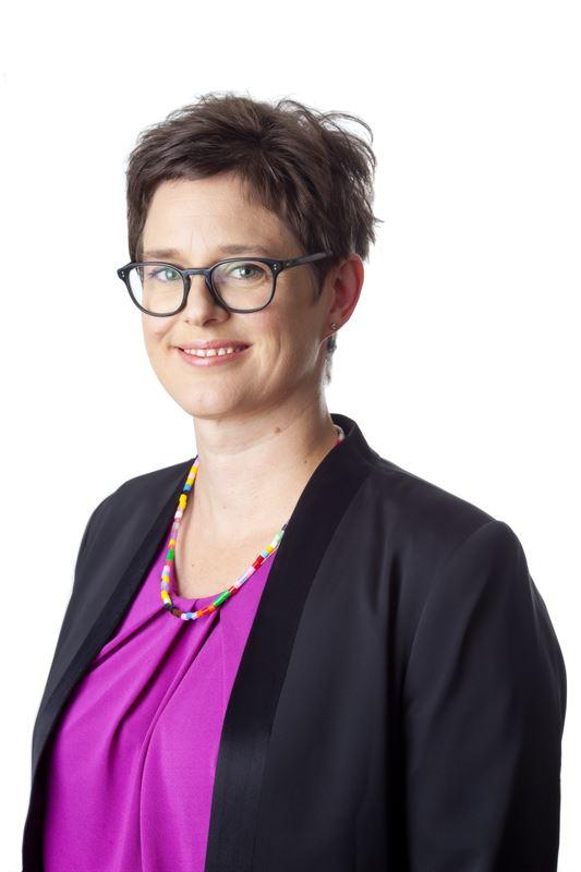 Karolina Boholm, transportdirektörpå Skogsindustrierna.