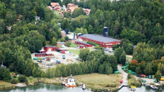 Reningsverket i Margretelund.