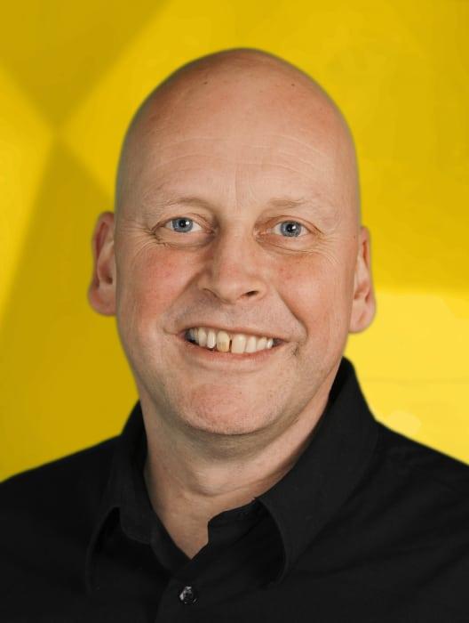 <span>Krister Blomgren, VD på Engcon Group</span>