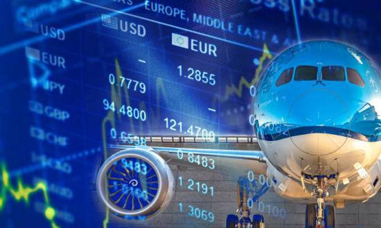 KLM toppar Dow Jones Sustainability Index bland flygbolag 2019.
