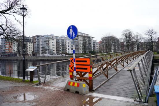 Gamletullsbron, 6 mars 2019. Bygget av nya Gamletullsbron planeras starta i början av augusti och vara klart i slutet av november. Under byggtiden kommer bron ibland att vara helt avstängd och ibland ha begränsad framkomlighet.