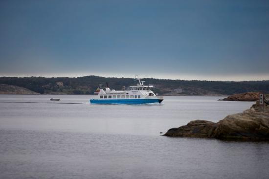 Färjan mellan Lysekil och Skaftö kommer drivas på el från nästa år.