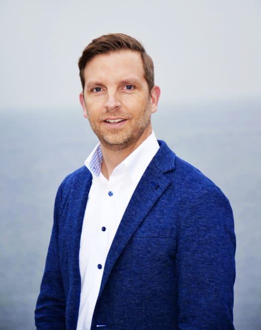 Jens-Christian Tittel, VD för Mercedes-Benz Trucks i Sverige och Danmark.