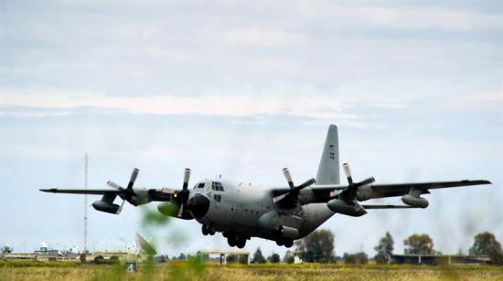 Herculesflygplan.