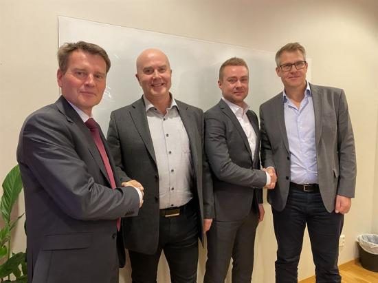 Magnus Liljefors, Chefsjurist Bravida, Tomas Lindmark, Rörteamet, Christoffer Lindmark, Rörteamet, Olle Näsvall, regionchef Bravida