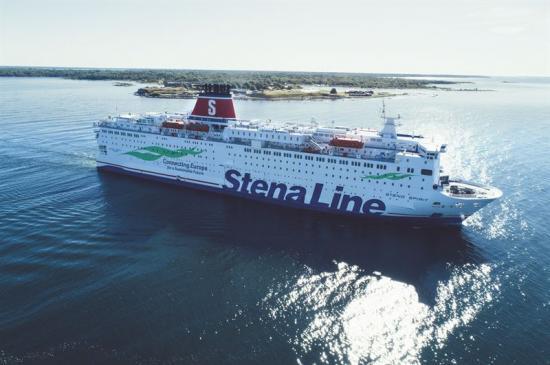 Stena Spirit är ett av tre fartyg som varje vecka seglar 40 avgångar mellan Karlskrona och Gdynia.