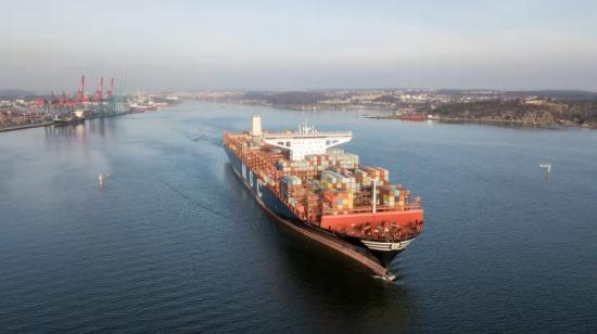 MSC Viviana och andra jättefartyg kommer att kunna anlöpa Göteborgs hamn fullastade från och med 2026.
