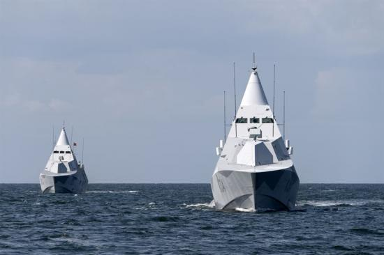 Visby Corvettes.