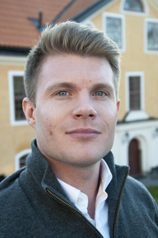 Max Bjurström, projektledare för Sjöfartsverket.