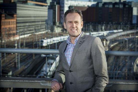 Svante Axelsson, nationell samordnare för Fossilfritt Sverige.