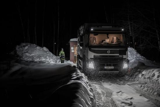 Från kvällen den 5 mars körs slambilar med avloppsvatten från Täfteå.