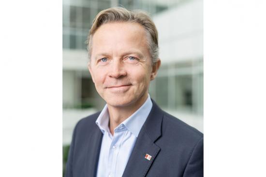 Erik Lewenhaupt, Hållbarhetschef på Stena Line.